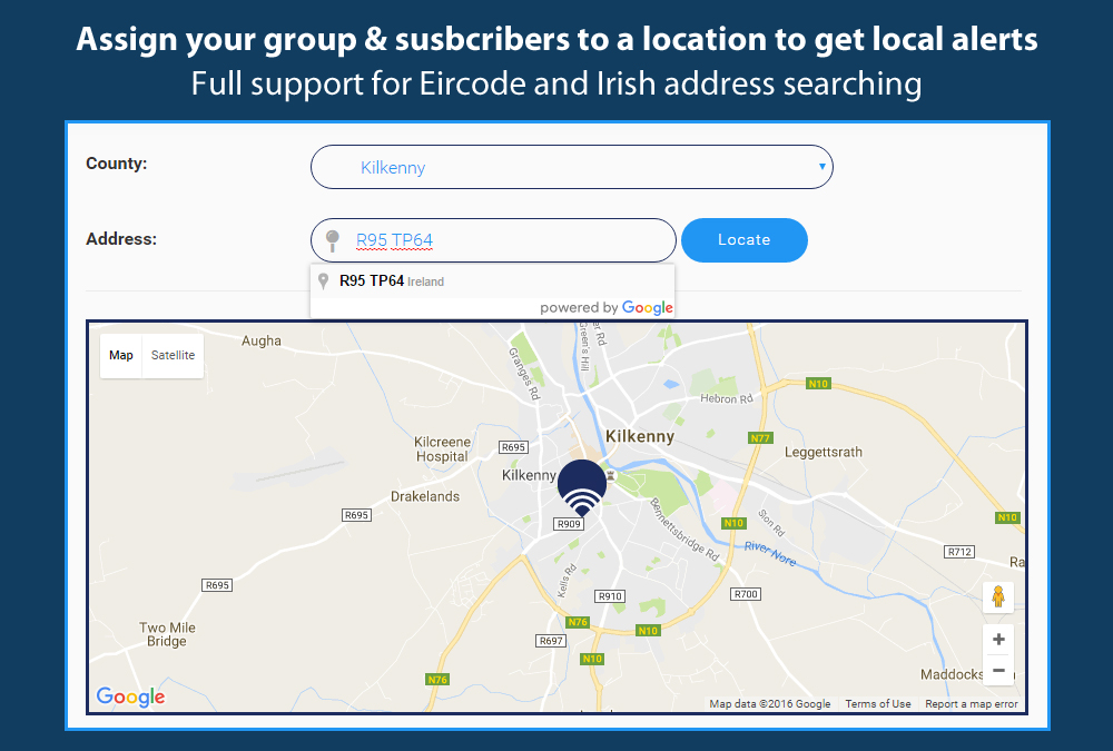 Map Your Subscribers